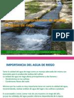 Salinidad - Interpretacion de analisis de aguas para riego