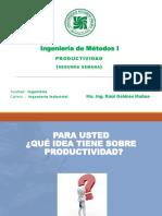 2da Clase Productividad