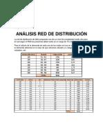 Análisis Red de Distribución.