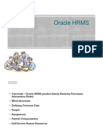 ORACLE EBS HRMS Basic Features