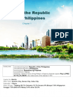 Chapter 1 Profile of the Republic of the Philippines