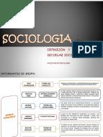 Sociologia Definicion y Escuelas