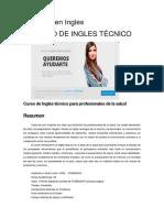 aaaCurso de Ingles técnico para profesionales de la salud.docx