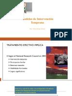 Modelos de Intervencion La Serena 2019