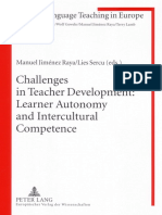 (Foreign Language Teaching in Europe) Manuel Jiménez Raya, Lies Sercu - Challenges in Teacher Development_ Learner Autonomy and Intercultural Competence-Peter Lang International Academic Publishers (2