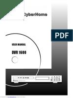 IsoBuster Cyberhome DVR 1600