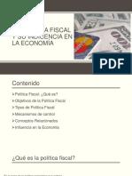 Exposicion - Politica Fiscal