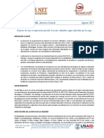 Centroamerica - Informe Especial - Sector Cafetalero 2017