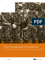 The Complexity of Violence -DR Congo