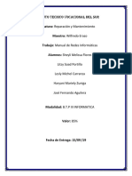 Redes Informáticas Manual