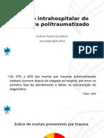 Manejo intrahospitalar do paciente politraumatizado - H.Afonso.pptx