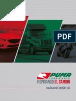 Catalogo de aceites PUMA
