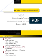 """""""Why API?"""" (and other Architectural Anecdotes)"""