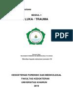 Pegangan Mahasiswa Modul 1 Forensik-Medikolegal Luka & Trauma