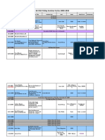 Seminar Info Sheet 2009