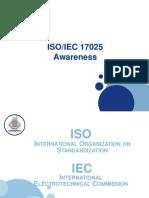 ISO 17025 awareness
