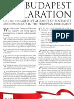 Budapest Declaration En