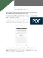 Manual IFTTT Es