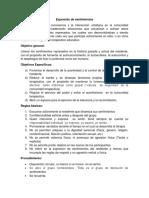 Protocolo Prof. Ramiro Expresión de Sentimientos