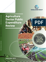Uganda Agriculture Sector Public Expenditure Review