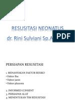 resusitasi neonatus gambar