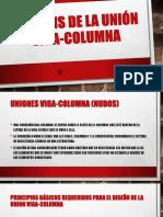 union viga columna