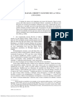 In Memoriam Rafael Gibert y Sánchez de La Vega 1919 2010