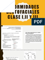 Deformidades Dentofaciales Clase I,II Y III