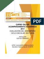 Antología Diagnóstico