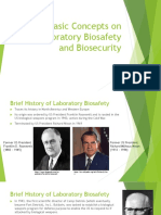 Basic Concepts on Laboratory Biosafety and Biosecurity