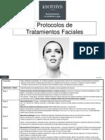 Protocolos Tratamientos Faciales 2016