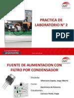 Laboratorio 2 - Electronica Jj