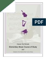 Hoover Music Curriculum
