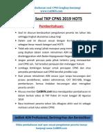 Soal Latihan TKP CPNS 2019 HOTS Paket 14.pdf