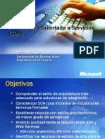 Arquitectura de Software - Arquitecturas Orientada a Servicios (SOA)