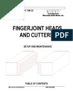 Finger Joints
