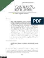PIMENTA, Tânia Salgado. Médicos e cirurgiões nas primeiras décadas do século XIX no Brasil