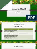 Consumer's Health