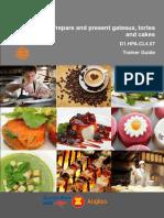 TG Prepare & Present Gateaux Tortes & Cake 060912