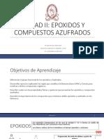 Epoxidos y sulfuros