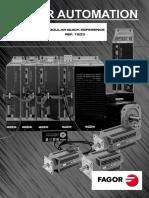Fagor DDS Modular Quick Reference Manual English