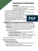 8-Hémolyse Physiologique Et Pathologique