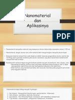 3.Nanomaterial Dan Aplikasinya