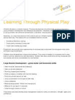 Learning Through Physical Play