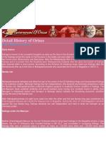 Detail History of Odisha