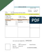 Medical Report Pt. Mjl Tebas