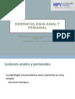 6 Dermatología Anal y Perianal Curso VPH FLS 2018 Irene Fuertes