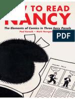 How to read Nancy (Paul Karasik and Mark Newgarden)
