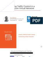 Implementing Traffic Control in a Microsoft Azure Virtual Network Slides