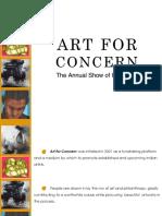 Art for Concern